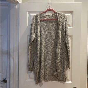Grey long sleeve jacket